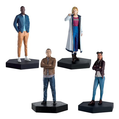 Doctor Who 13th Doctor and 3 Companions Set #7