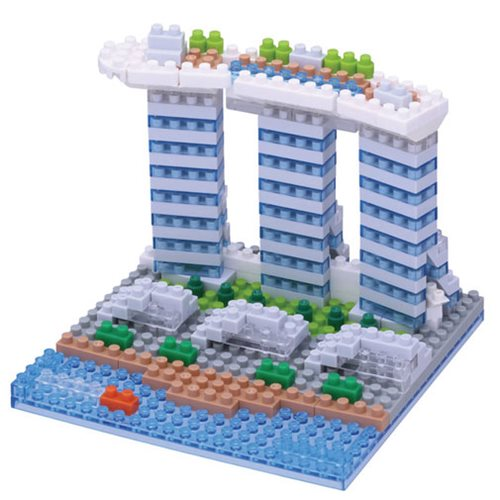 Marina Bay Sands Nanoblock Constructible Figure