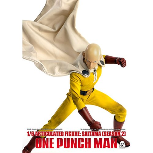 One-Punch Man Saitama Season 2 Standard Version 1:6 Scale Action Figure