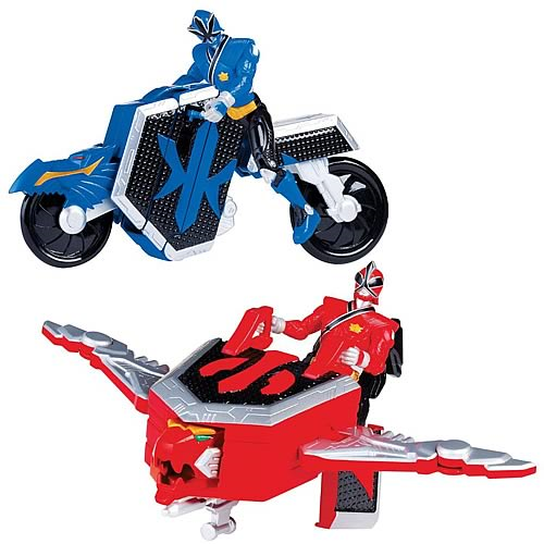 Power Rangers Build and Morph Action Figure Set