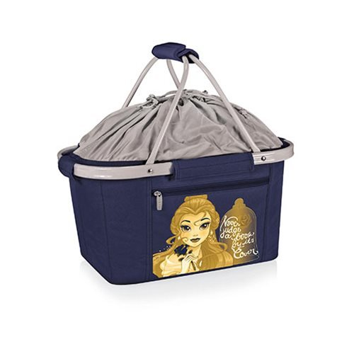 Beauty and the Beast Metro Basket Collapsible Cooler Tote Bag
