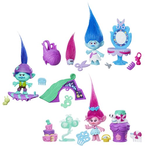 Trolls Small Troll Town Story Packs Wave 2 Case