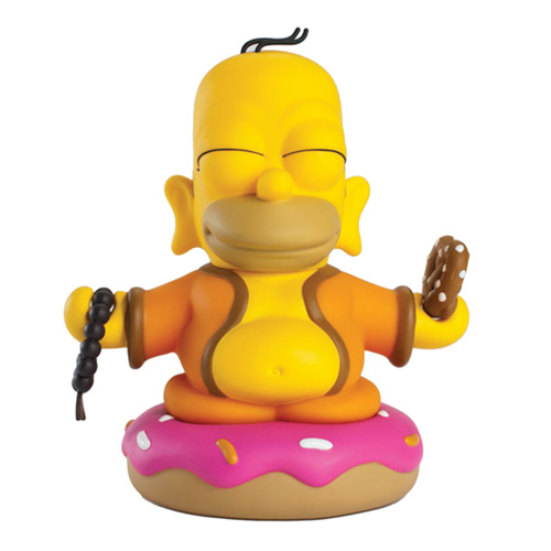 The Simpsons Homer Buddha 3-Inch Vinyl Mini-Figure