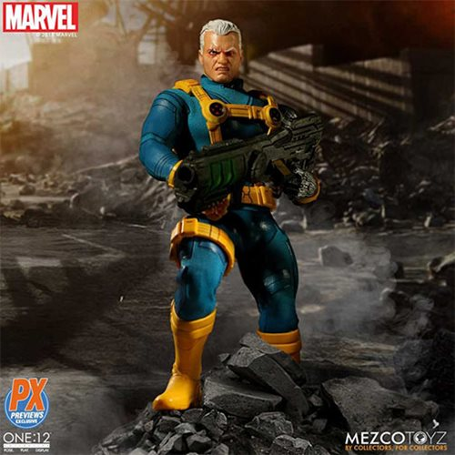 X-Men Cable 1990s Costume One:12 Collective Action Figure - Previews Exclusive