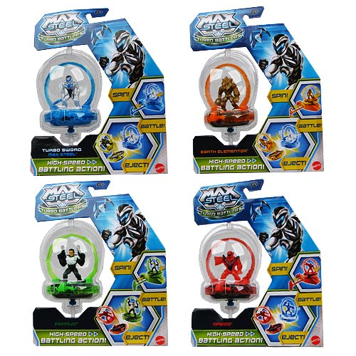 Max Steel Turbo Battlers Action Figure Case