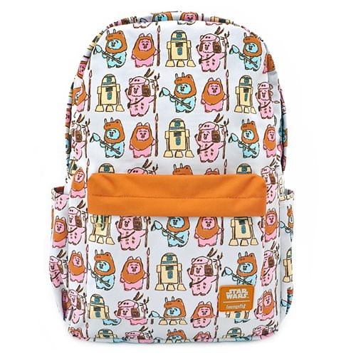 Star Wars Ewoks Pastel Print Nylon Backpack