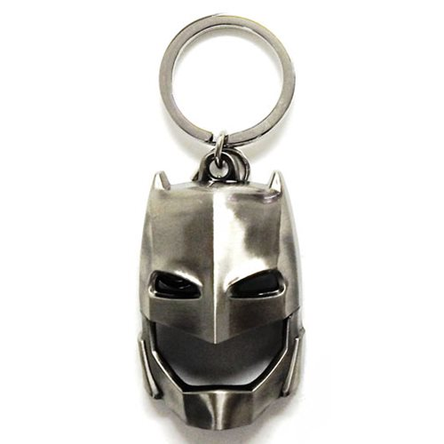 Batman V Superman Armored Batman Mask Pewter Key Chain