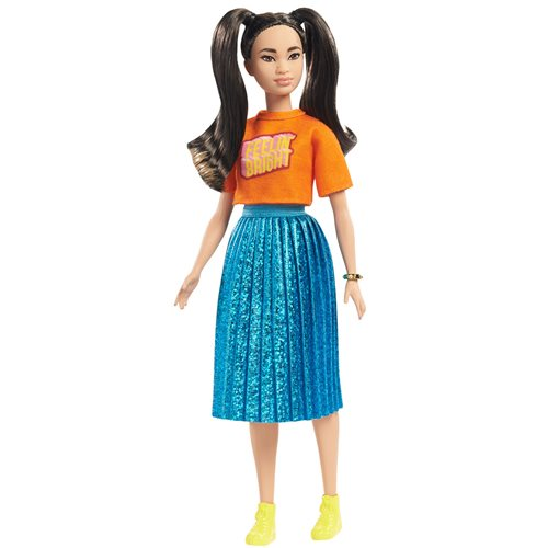 Barbie Fashionistas Doll #145 with Long Brunette Pigtails