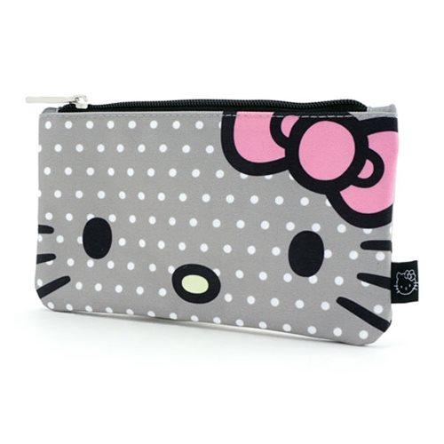 Hello Kitty Polka Dot Travel Cosmetic Bag - Entertainment Earth cec0073dd05eb