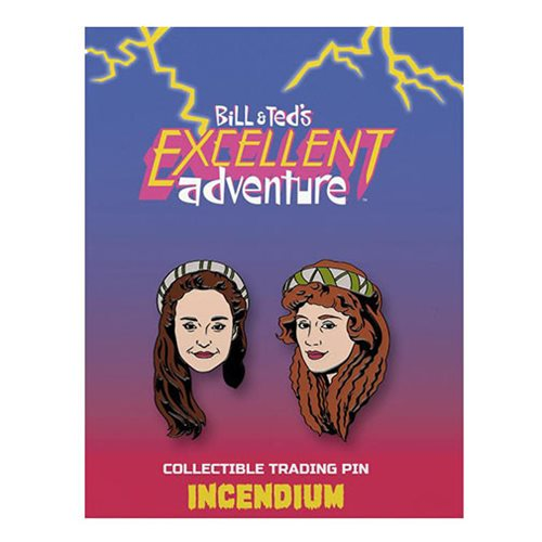 Bill & Ted's Excellent Adventure The Princesses Lapel Pin 2-Pack
