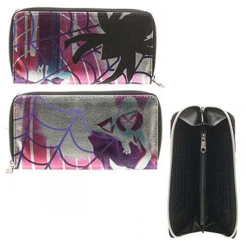 Spider-Gwen Zip Around Wallet