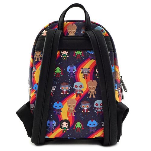 Guardians of the Galaxy Chibi Print Mini Backpack