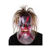 Slipknot Clown with Hair Deluxe Mask