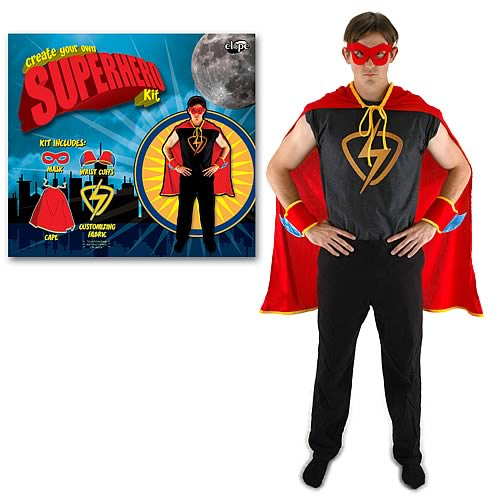 Create Your Own Superhero Costume Kit  sc 1 st  Entertainment Earth & Create Your Own Superhero Costume Kit - Entertainment Earth