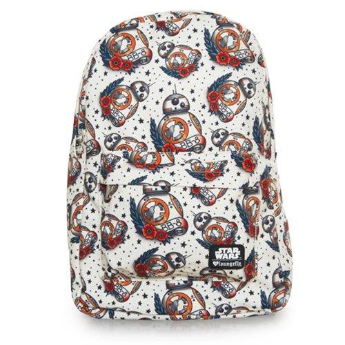 Star Wars: The Force Awakens BB-8 Tattoo Print Backpack