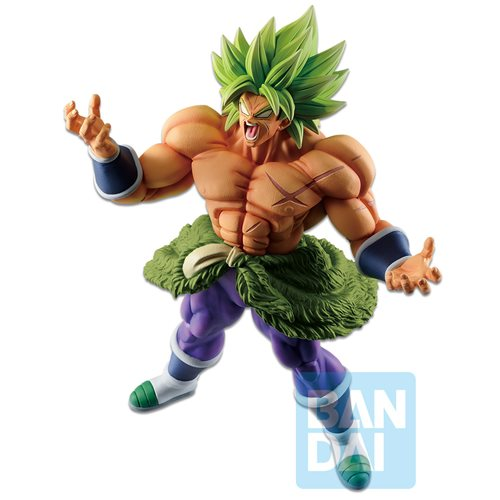 Dragon Ball Full Power Super Saiyan Broly Vs Omnibus Z Ichiban Statue