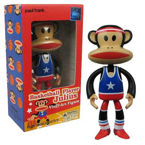 Paul Frank Basketball Player Julius Vinyl Art Figure