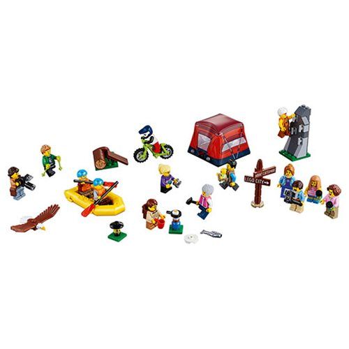 LEGO City Town 60202 People Pack Outdoor Adventure