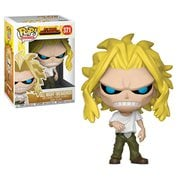 My Hero Academia All Might Weakened Pop! Vinyl Figure #371, Not Mint