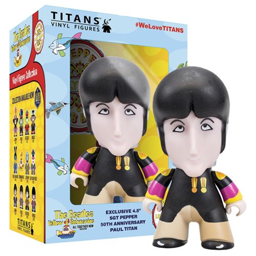 The Beatles Sgt. Pepper's Paul in Disguise 4 1/2-Inch Titans Vinyl Figure