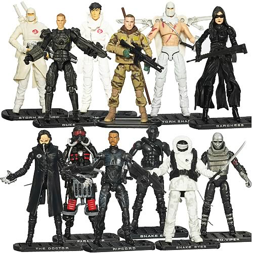 G.I. Joe Movie Action Figures Collection 1 Wave 3