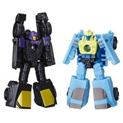 Transformers Generations War for Cybertron: Siege Micromasters Decepticon Sports Car Patrol Blackjack and Hyperdrive