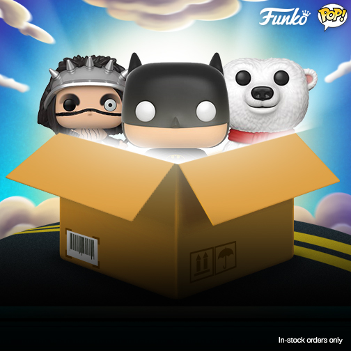 Funko Buy 3 Pop Vinyls Get Free Shipping