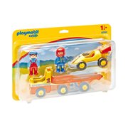 Playmobil 6761 1.2.3 Tow Truck with Race Car