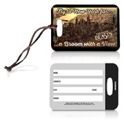 Fantastic Beasts and Where to Find Them Broom With A View Luggage Tag