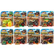 Hot Wheels Monster Trucks 1:64 Scale Vehicle Mix 12 Case