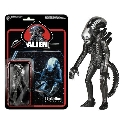 Alien Metallic Alien ReAction 3 3/4-Inch Figure