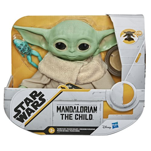 Star Wars The Mandalorian The Child 7 1/2-Inch Electronic Plush Toy