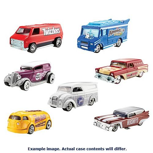 Hot Wheels Collector Nostalgia Wave 5 Vehicles Case