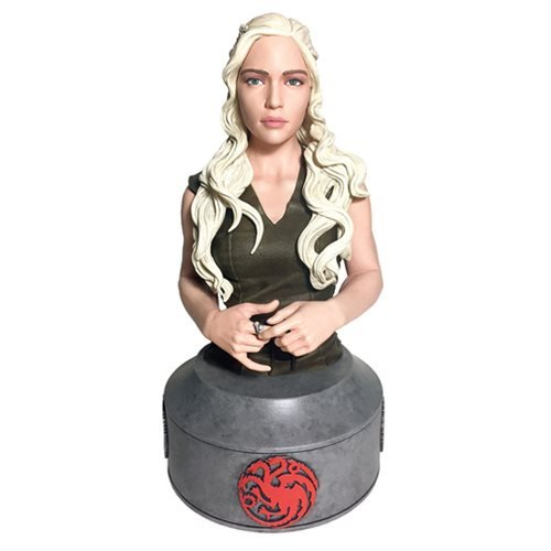Картинки по запросу Game Of Thrones Mini Bust - Daenerys Targaryen Mother Of Dragons Bust
