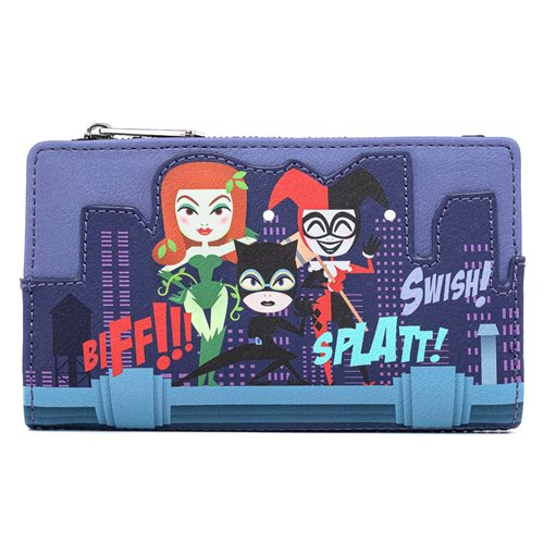 DC Ladies of DC Comics Flap Wallet
