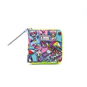 Pool Party Small Zip Around Wallet