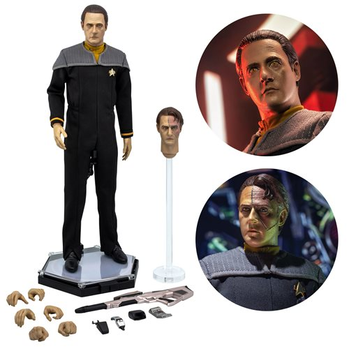 Star Trek: First Contact Lieutenant Commander Data 1:6 Scale Action Figure