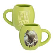 Star Wars Yoda Judge Me By My Size 18 oz. Oval Ceramic Mug