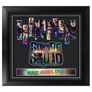 Suicide Squad Framed Movie Art
