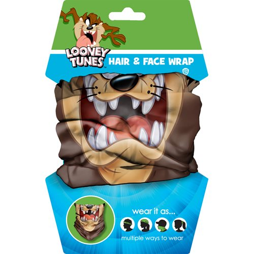 Looney Tunes Taz Hair Wrap