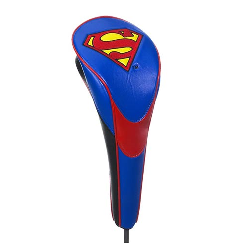 Superman Logo Performance Driver Golf Club Cover