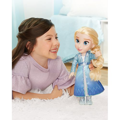 Frozen 2 Anna and Elsa Travel Doll Set