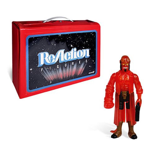 ReAction Figure Carry Case with Hellboy Action Figure