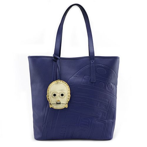 Star Wars R2-D2 Blue Tote Purse