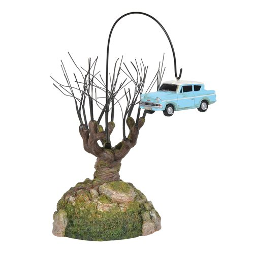 Harry Potter Village Whomping Willow Tree Statue