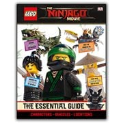The LEGO Ninjago Movie The Essential Guide Hardcover Book