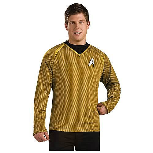 Star Trek Movie Grand Heritage Captain Kirk Gold Shirt