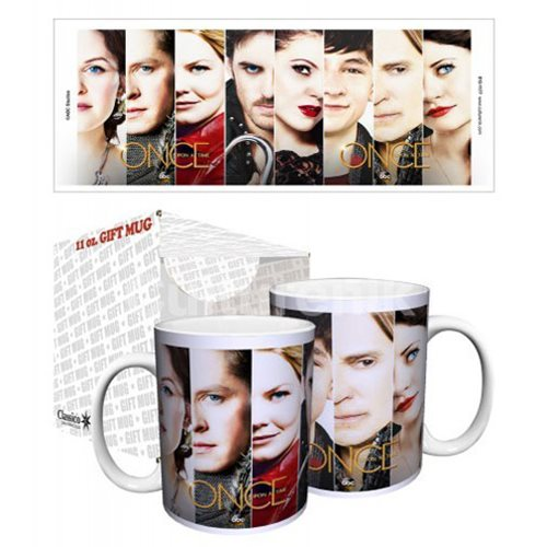 Once Upon a Time Faces Core Art 11 oz. Mug