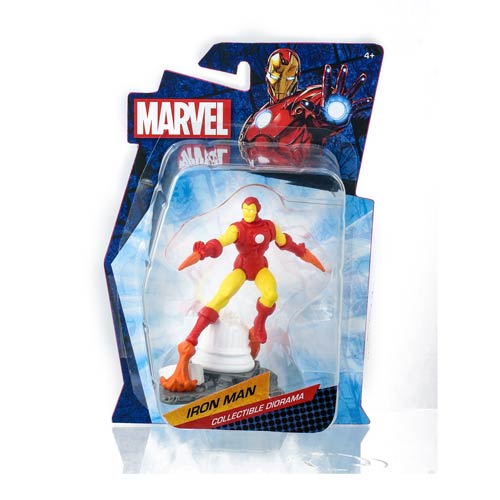 Iron Man Marvel Heroes Collectible Diorama Mini-Figure