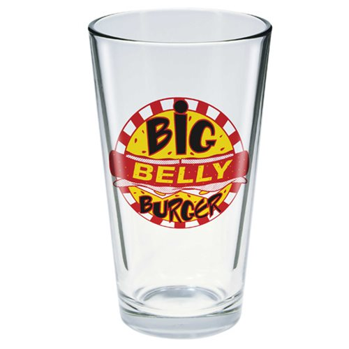 Arrow Big Belly Burger Toon Tumbler Pint Glass